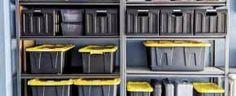 Top 50 Best Exterior House Paint Ideas - Color Designs Best Garage Shelving, Diy Garage Storage, Tool Storage, Storage Shelves, Storage Organization, Storage Ideas, Best Exterior House Paint, Exterior House Colors, Exterior Paint