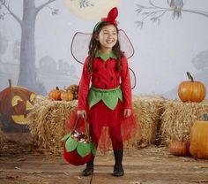 costume-enfants-fraise-idées-costumes-Halloween-magnifiques