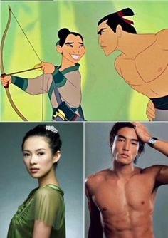 If Disney couples were only real (10 photos)