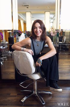 Transformation: Malu Byrne Goes Gray - Vogue
