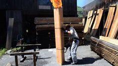How to Make Shou-Sugi Wood Siding