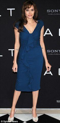 Blue Elie Saab dress