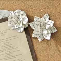 Set of 12 Fleur Push Pins   Home Accessories   Ballard Designs