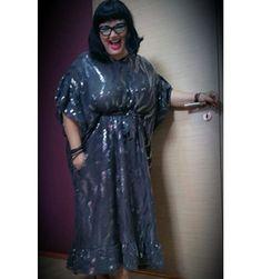 Ozana Barabancea, in a SinebySeila Designer Dress. www.sinebyseila.com