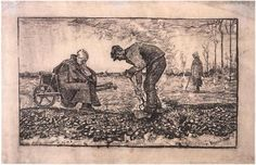 Graphic, Lithograph  The Hague: July - middle of month, 1883