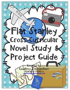 """Flat Stanley is not just for primary grades!  A tweaked version of the original project, these activites are great for intermediate grades.  Students will create flat """"selves,"""" write friendly letters, address envelopes, and then send their letters and flat """"selves"""" to new locations for adventure and fun!"""