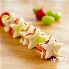 PB & J Fruit Kabobs from Smucker's®