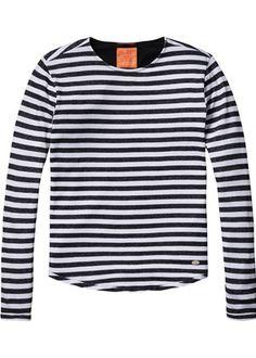 Stripe L/S T-Shirt