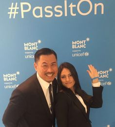 #passiton #Montblanc #giving #gift #unicef #givingback #thegiftofwriting #goodfeeling #feelingood