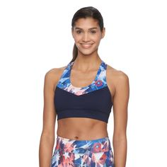 Pair this bra with a red Sparkle Athletic running skirt and you're good to go for July 4th weekend!