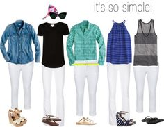 Ye Annual White Jeans Post + My Summer Uniform