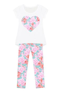 Spring Garden Mary Set - Girls