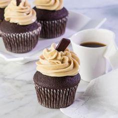 Cupcake Recipes : Chocolate Mocha Cupcakes, Gluten Free