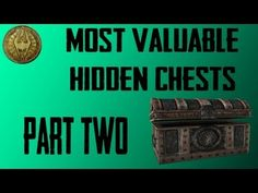 How to Get to the Most Valuable Hidden Chests in Skyrim Part 1 - YouTube
