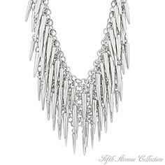 Spike up your look and lift your spear-its wearing the latest look in great jewelry, designed with dozens of light-weight circles and spears that shimmer like winter icicles.  Please visit my Website for more information and beautiful jewelry pieces...  http://www.fifthavenuecollection.com/public/en-us/ahernandez