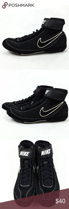1c733decb0da Nike Speed Sweep VII Black Wrestling Shoes Size 10 Nike Speed Sweep VII  Black White Wrestling