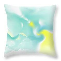 Deus Throw Pillow featuring the digital art Aven by Ron Labryzz