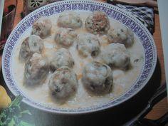 Greek Yiouvarlakia CyprusVersion (Avgolemono with Meatballs)