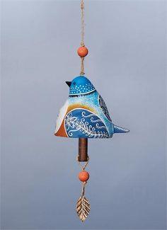 Bird Song Ceramic Bells Ceramic Birds, Ceramic Art, Pottery Studio, Pottery Clay, Slab Pottery, Pottery Sculpture, Ceramic Sculptures, Ceramic Workshop, Jar Art