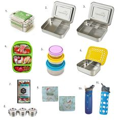 Lunch Boxes for the Montessori Child (and for all independent young children)