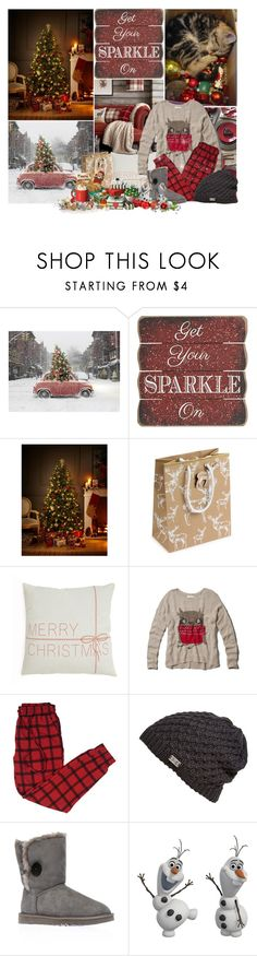 """""""Getting ready for Christmas!!!"""" by mayara1011 ❤ liked on Polyvore featuring Pier 1 Imports, M&S, Abercrombie & Fitch, Under Armour, UGG Australia and Frontgate"""