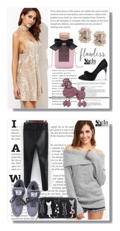 """""""SheIn 18."""" by amra-sarajlic ❤ liked on Polyvore featuring Sheinside, shein and Marc Jacobs"""