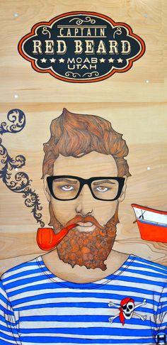 red beard by holli zollinger