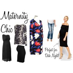 Chic & Comfy Maternity Style