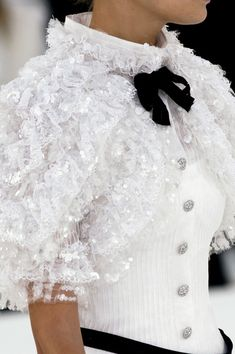 #Chanel Couture Spring 2006 #Details