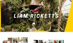 Liam Ricketts — London-based Photographer specialising in portraiture and lifestyle work.