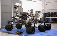 "Mars robot ""Curiosity"""