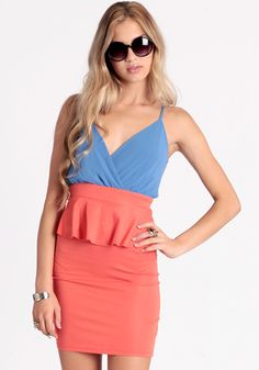 Party Hopper Peplum Dress #threadsence #fashion Peplum Dresses, Dress P, Brainstorm, Rompers, Passion, My Style, Party, Cute, Closet