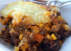 Yummy...enjoyed the recipe very much easy to make...I replaced the corn with chakalaka with butternut can and because chakalaka has pepper i did not use the black pepper.