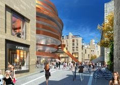 Architecture and design news from CLAD - Jestico + Whiles given green light for controversial 'ribbon hotel' in Edinburgh, UK