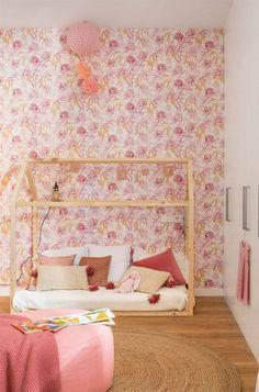Habitaciones infantiles decoradas con fibras naturales