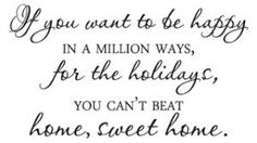 Image result for holiday quotes about home