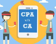 "Check out new work on my @Behance portfolio: ""CPA vs CA"" http://on.be.net/1IxIS7h"