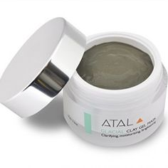 Clay Facial Mask by ATAL - Skin Cleanser and Moisturiser - Reduces Pores, Treats Acne and Problem Skin, Exfoliates, Anti Ageing Benefits - Natural Ingredients - Unique Canadian Glacial Marine Clay