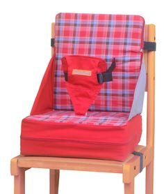 Cadeira portatil para alimentação Baby Up em tecido e lavavel e que vira uma almofada - Bambalalão Brinquedos Educativos