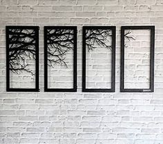 Tree-Branch-Framed-wall-accessory-decor-Laser-cutting-Metal-contemporary-art