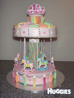 Wilton Carousel Cake Topper Set Horse Pony Birthday Kit
