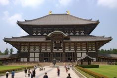 Templo em Nara, Japão.