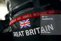 The bags of Sochi medal hopeful James Woods is packed and ready for shipment during the Team GB Kitting Out ahead of Sochi Winter Olympics on January 23, 2014 in Stockport, England. (Photo by Jan Kruger/Getty Images)