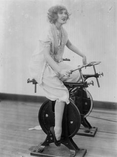 1921: SoulCycle 1.0. | 20 Redonk Ways People Worked Out In The Olden Days