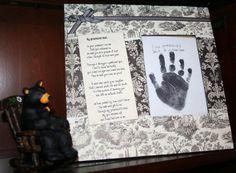 My Grandchilds Hand by YallComeBackDecor on Etsy