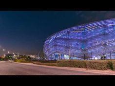 Education City Stadium Qatar, 2022 FIFA World Cup - YouTube 2022 Fifa World Cup, Education City, Fair Grounds, Travel, Youtube, Gardening, Veg Garden, Aqua, Foods