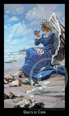 Queen of Cups- Witches Tarot