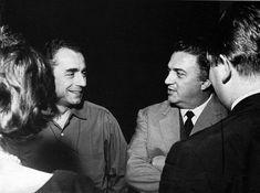 Michelangelo Antonioni and Federico Fellini