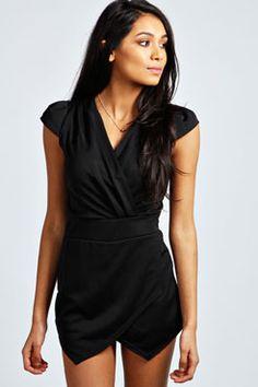 Whitney Wrap Over Skort Playsuit Wrap Skort, Dress Trousers, Australian Fashion, Bold Fashion, Playsuits, Dress Me Up, Dress To Impress, Fit Women, Fashion Online