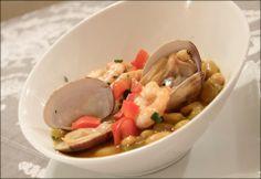 #Tapasconarte: Fabes con almejas y langostinos de Manolo León Restaurantes & Catering